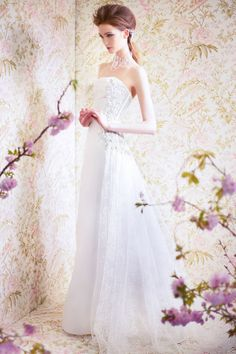 This whole collection is just gorgeous... this one's my fav. Angel Sanchez Spring Bridal 2015 Collection