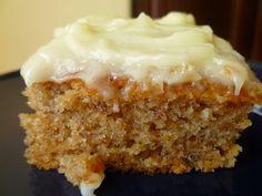 Just Desserts, Delicious Desserts, Dessert Recipes, Fall Desserts, Dessert Bars, Dinner Recipes, Banana Sheet Cakes, Sheet Cake Recipes, Simply Recipes