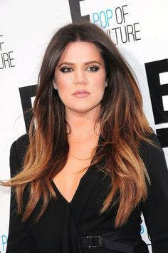 Ombre Hair Highlights | Khloe-Kardashian-Ombre-Hair-Highlights | Beauty Moves Me