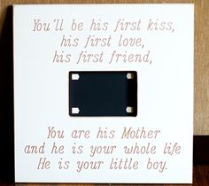 love it! gonna have to make this for some one I know having a boy