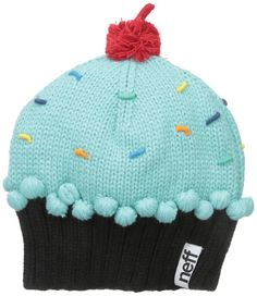 cupcake accessories for women | Other Women's Accessories - Neff Women's Cupcake Beanie Hat for sale ...