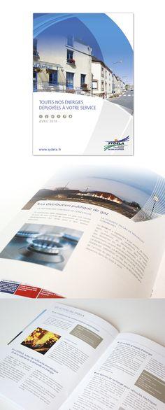 Plaquette #sydela réalisée par #axellescom - #edition #brochure #corporate #graphisme