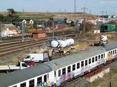 Meijo Ferroviario, el ferrocarril en Salamanca y el lejano oeste español: Nueva zona de repostaje en construcción