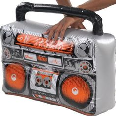 Inflatable Boom Box - Party City - photo booth prop!