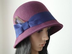 Custom Cloche by Babettes Hatworks by Truffles2 on Etsy, $75.00