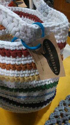 T-shirt yarn bag