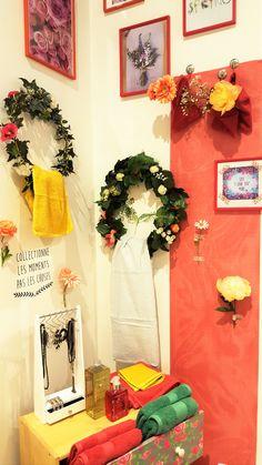 """Salle de bains Gennevilliers Déclic Mai/Juin 2016 """" Flowers"""""""