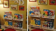 etageres à épices rangement livres chambre enfant