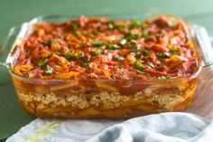 This Vegan Baked Pasta with Tofu Ricotta is perfect if you are looking for an easy, budget-friendly meal that is also delicious! Ricotta Pasta Bake, Vegan Pasta Bake, Tofu Ricotta, Baked Pasta Recipes, Tofu Recipes, Healthy Recipes, Vegan Meal Prep, Vegetarian Meals, Vegan Dinners