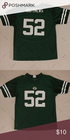 Cheap Clay Matthews Green Bay Packers NFL Kids Jersey Official : Authentic  supplier