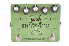 Pedal Reviews: Dawner Prince Diktator Preamp/Overdrive/Distortion | Delicious Audio
