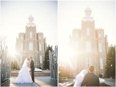 Logan Temple Wedding | Kaylee & Andy | Kylee Ann Photography | Logan Utah Wedding Photographer