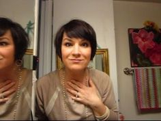 Cibu Loves Pixie Cuts: How to Style Short Hair (I have to say...I kinda like her hair cute!!!)
