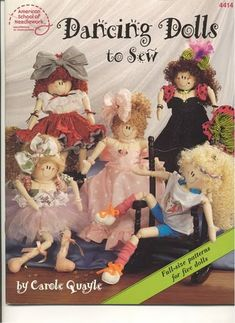 Mimin Dolls has patterns and very detailed instructions.
