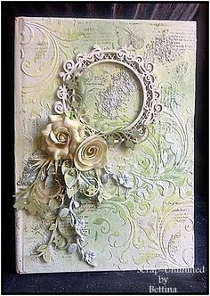 Scrap-Unlimited: Mixed media notitieboekje