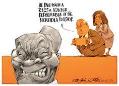 How Will Zuma #PayBackTheMoney? Lion Sculpture, African, Statue, Cartoons, News, Animated Cartoons, Cartoon, Comic Book, Sculpture