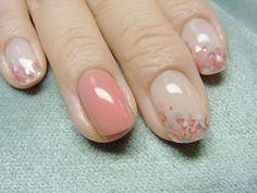 unghie gel nail art sposa con dotter