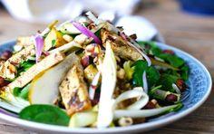 Warm Salad With Marinated Tofu, Potatoes, and Hazelnuts [Vegan, Gluten-Free] | One Green Planet