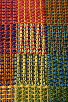 Weave-Away  Crackle Weave  http://weave-away.blogspot.com/