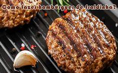 Como fazer hambúrguer caseiro de fraldinha? #hambúrguer #hamburgueria #receitas…