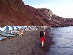 Red Beach Santorini, Greece holidays