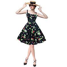 Maggie Tang Women's 1950s Vintage Rockabilly Dress Size L Color Black cherry Maggie Tang http://www.amazon.com/dp/B00NTVUCG4/ref=cm_sw_r_pi_dp_ZY2Oub1Y6DK3X