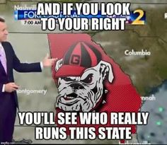 Us dawgs run this state! That is the flat out truth