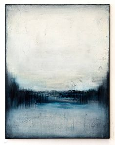 Original blue abstract painting by Radek Smach, Size: in, cm, Acrylic on Canvas. Ready to hang. Seascape Art, Blue Abstract Painting, Acrylic Painting Canvas, Chalk Painting, Abstract Paintings, Landscape Paintings, Canvas Art, Formal Elements Of Art, Lake Art