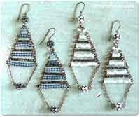 The Lisbon Earrings Tutorial
