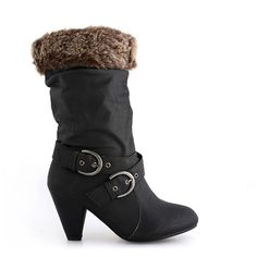 CIZME BLACK HOTTIE  139,0 LEI Wedges, Boots, Black, Fashion, Crotch Boots, Moda, Black People, Fashion Styles, Shoe Boot