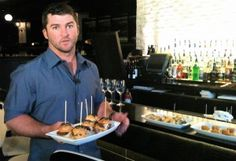 Braves second baseman Dan Uggla to try a second career as an STK server for a night, to benefit his charity.