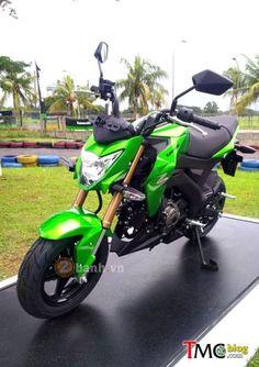 Kawasaki Z125 2016 Chính Thức Ra Mắt