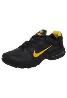 Tênis Nike Air Max LTE II Preto/Amarelo – Nike - http://batecabeca.com.br/tenis-nike-air-max-lte-ii-pretoamarelo-nike.html