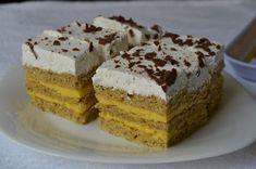 Myra's kitchen: Prajitura cu foi de nuca si crema vanilie