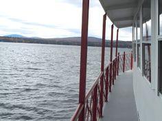 Lake Sunapee on Seeing New England: Location: NH