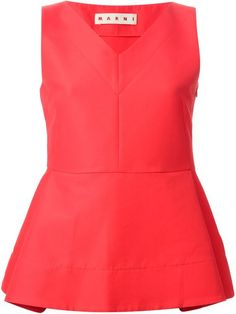 Shop Marni peplum top in Al Duca d'Aosta from the world's best independent boutiques at farfetch.com. Over 1000 designers from 300 boutiques in one website.