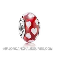 http://www.airjordanchaussures.com/pandora-red-and-white-heart-murano-charm-authentic.html PANDORA RED AND WHITE HEART MURANO CHARM AUTHENTIC Only 9,00€ , Free Shipping!