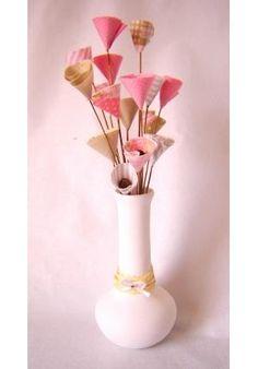 Objetivo Eterno: Flores de tecido - passo a passo - facil e lindo