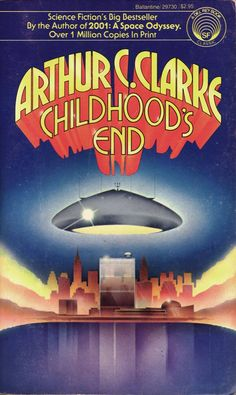 Childhood's End by Arthur C. Clarke, 1974 Del Rey/Ballantine Books No. 23730  Cover Art - Stanislaw Fernandes 1223×2048 пикс