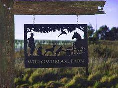 great farm sign idea