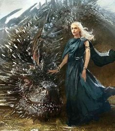 Daenerys Targaryen art from game of thrones Arte Game Of Thrones, Game Of Thrones Dragons, Got Dragons, Game Of Thrones Fans, Mother Of Dragons, Drogon Game Of Thrones, Game Of Thrones Characters, Daenerys Targaryen Art, Game Of Throne Daenerys