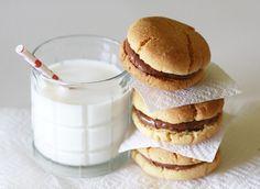 Nutella Sandwich Cookies | Via: A Beautiful Mess Blog - http://abeautifulmess.typepad.com