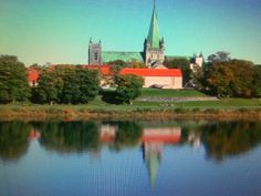 Trondheim Norway in June 2008