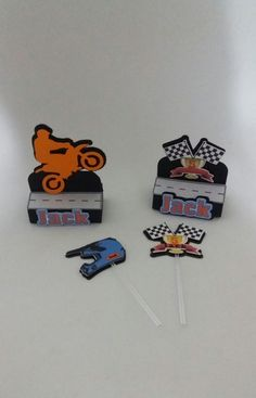 Porta Bis duplo tema Motocross