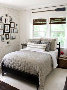 The lettered cottage bedroom
