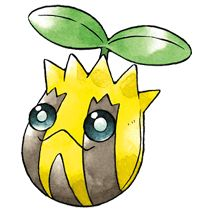 #Sunkern from the official artwork set for #Pokemon Gold and Silver for #GameBoy Color. http://www.pokemondungeon.com/pokemon-gold-and-silver-versions