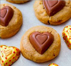 Peanut Butter Sweethearts [RECIPE]