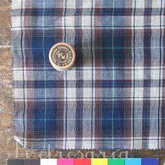 Mountain cabin Denim – 100 % cotton, from Portugal - Retrosaria Rosa Pomar