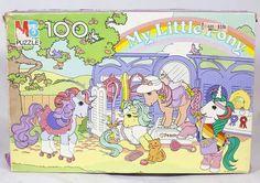 Ptetty Parlor puzzel jigsaw with Snuzzle, Bubbles, Sparkler.
