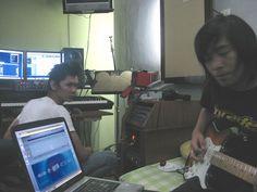 Guitar Recording Digital Audio, Recording Studio, Tv On The Radio, Guitar, Guitars, Rec Rooms, Music Studios